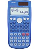 Casio FX-85GTPLUS - Calculadora científica (23 x 14 x 2 cm, pilas y solar), color azul (Importado)
