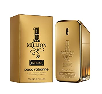 Amazoncom 1 Million Intense By Paco Rabanne For Men 17 Oz Eau De