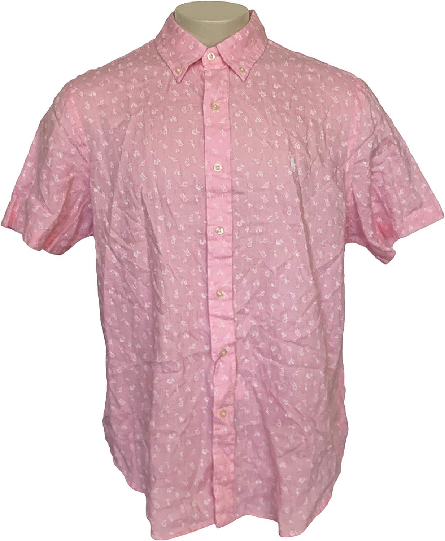 Polo Ralph Lauren Men S Classic Fit Linen Short Sleeve Button