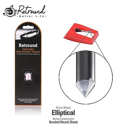 sw-119 diamond-tipped láser lápiz capacitivo aguja para tocadiscos ...
