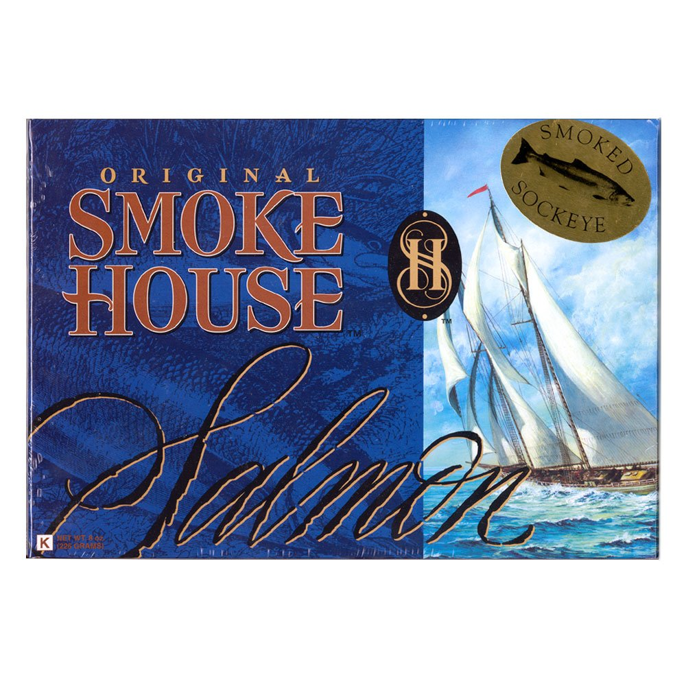 Original Smokehouse Smoked Salmon Fillet 8 oz.