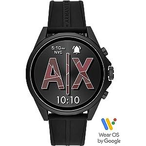 Amazon.com: Emporio Armani Mens Smartwatch 3 Touchscreen ...