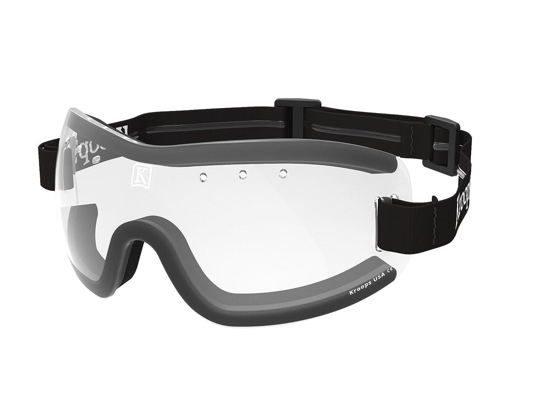 kroops Schutzbrille ik-91Fallschirmspringen Fallschirm Freien Fall Sport Brillen, rot