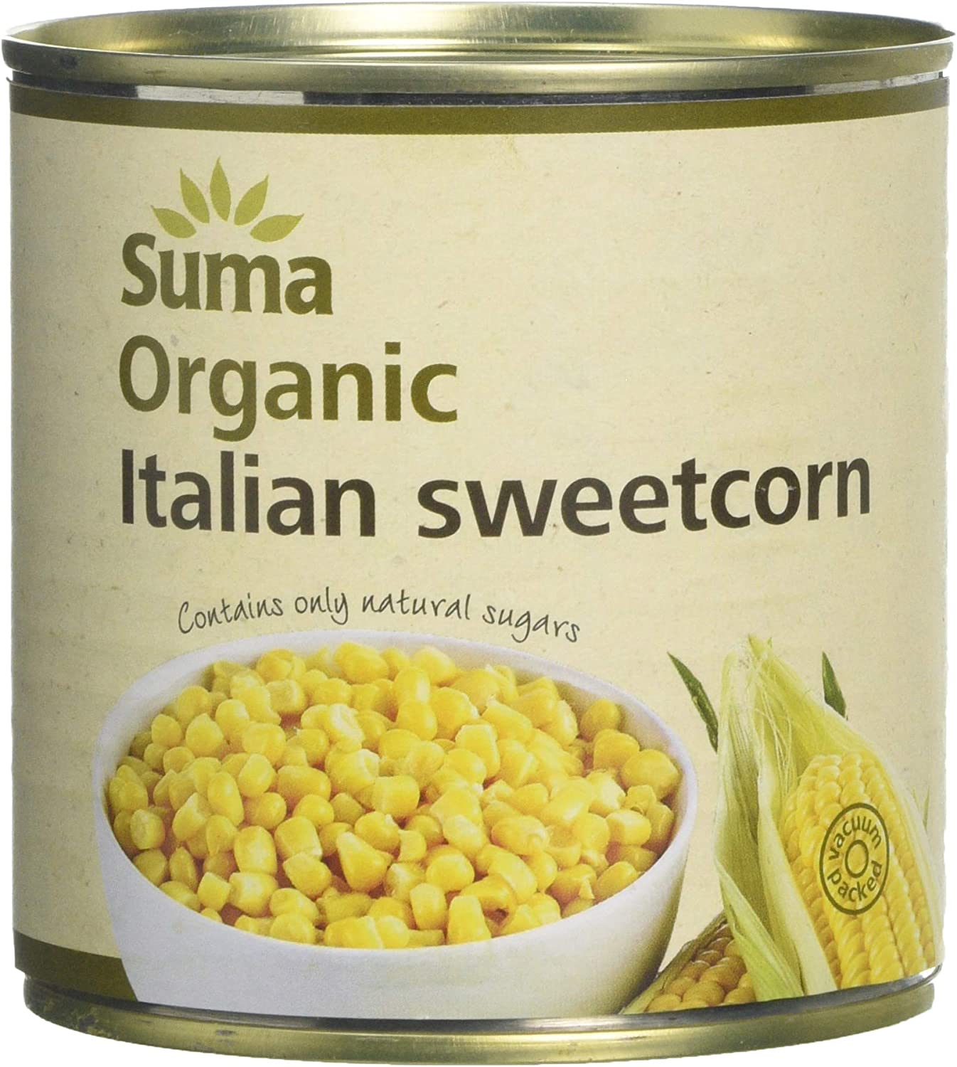 Suma Organic Italian Sweetcorn 340g (Pack of 12)