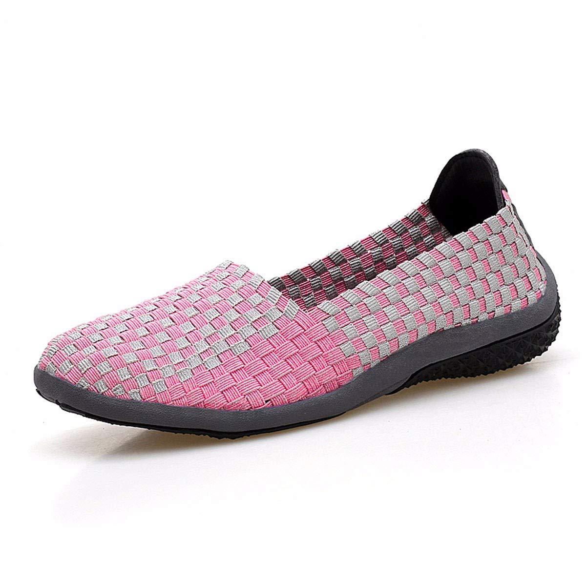 KPHY Damenschuhe/Freizeit Damenschuhe Schwarze Schuhe Ein Pedal Faul Schuhe Flachen Sohle Mutter Schuhe Atmungsaktiv Aus Weichen Sohle Tanzschuhe S.Grau