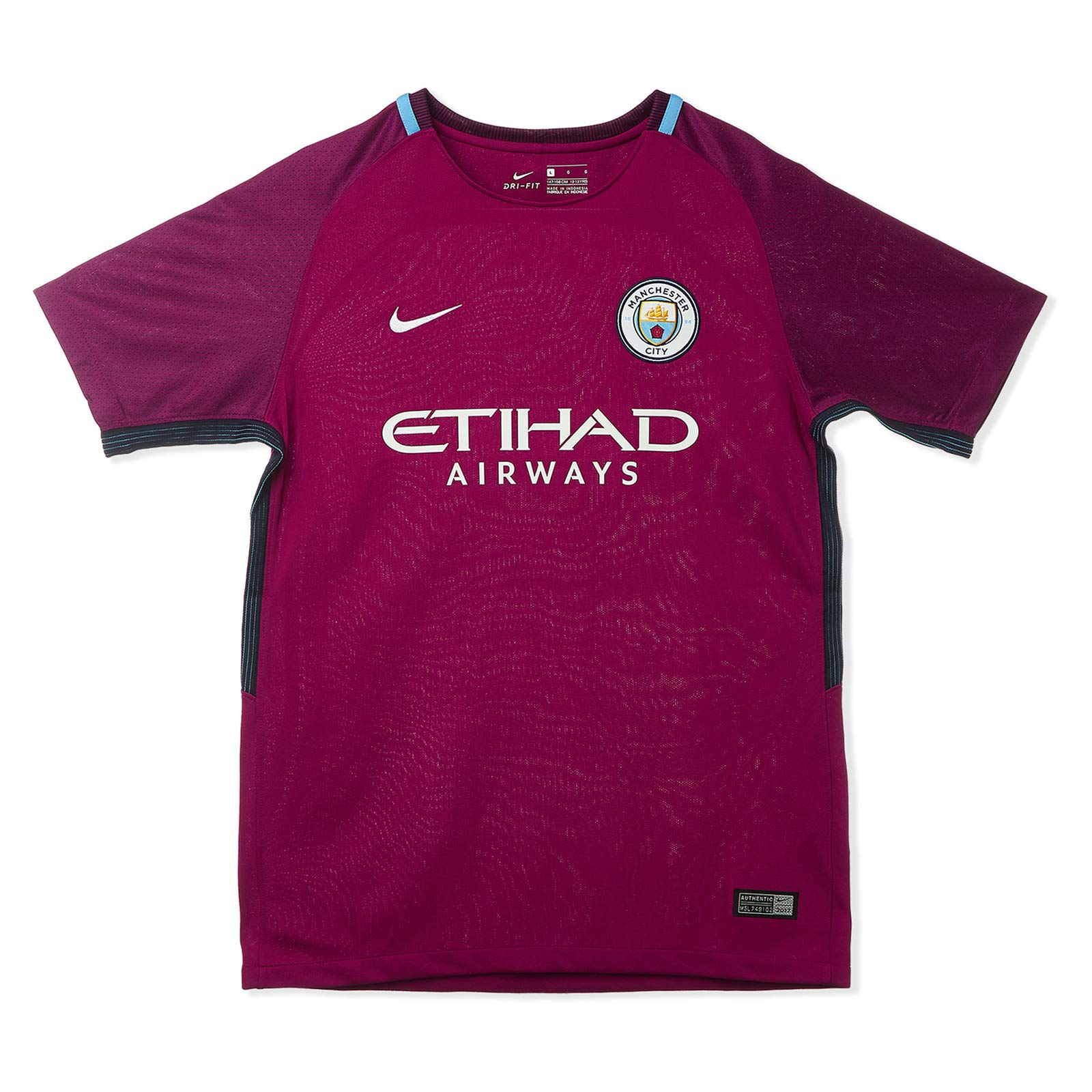 separation shoes 4e56d 4f7ce nike manchester City football Club BRT Stadium Jersey SS aW For Kids -  Purple 6-7 Years