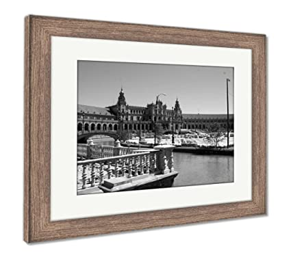 Amazon.com: Ashley Framed Prints Plaza De Espana Sevilla ...