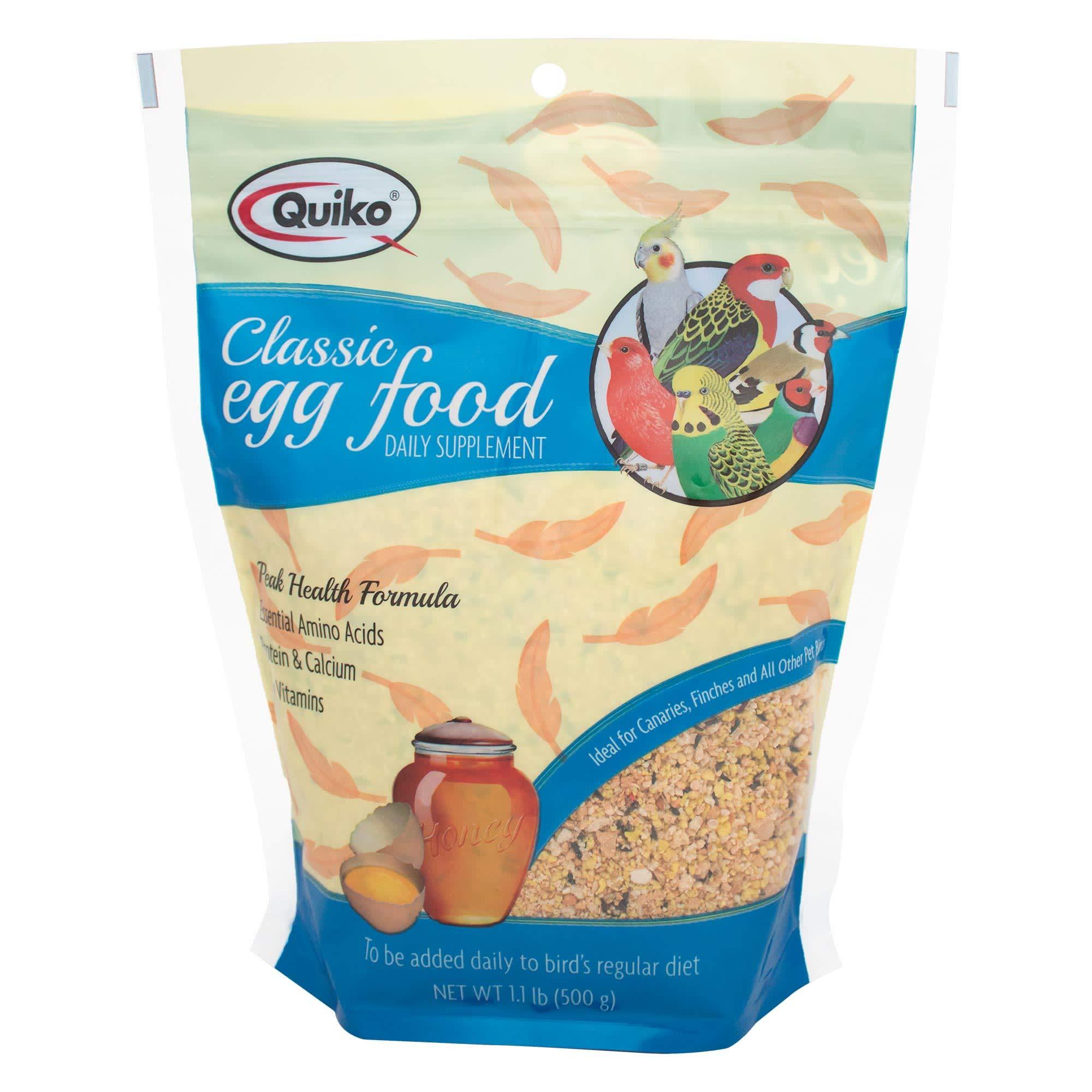 Quiko Classic Egg Food Bird Supplement