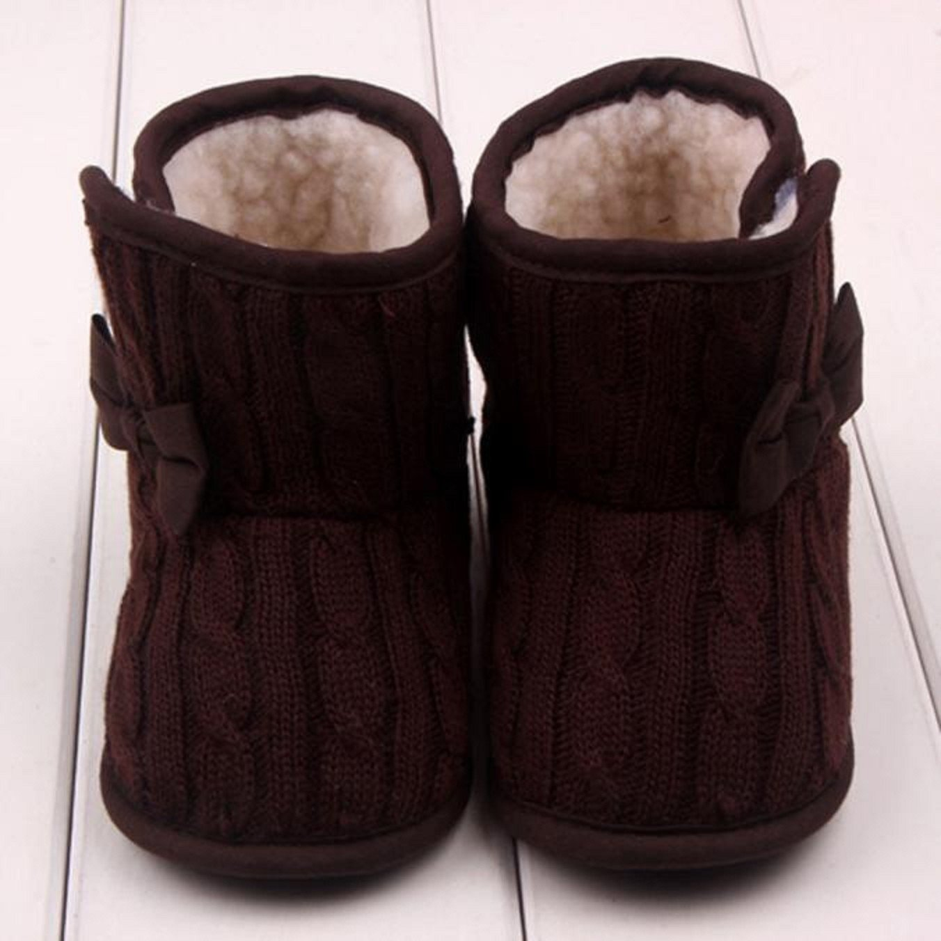 Car Electronics & Accessories 12, Coffee Speakers FAPIZI ❈ Baby Shoes ❈ Baby Bowknot Soft Sole Winter Warm Shoes