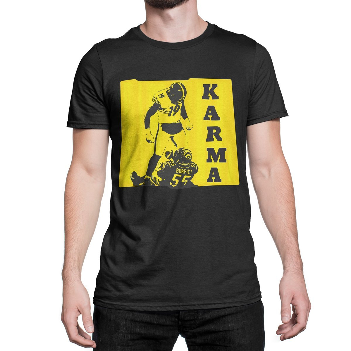 ... Amazon com Steelers Karma Shirt JuJu Smith Schuster T Shirt JuJu 906e96b1f