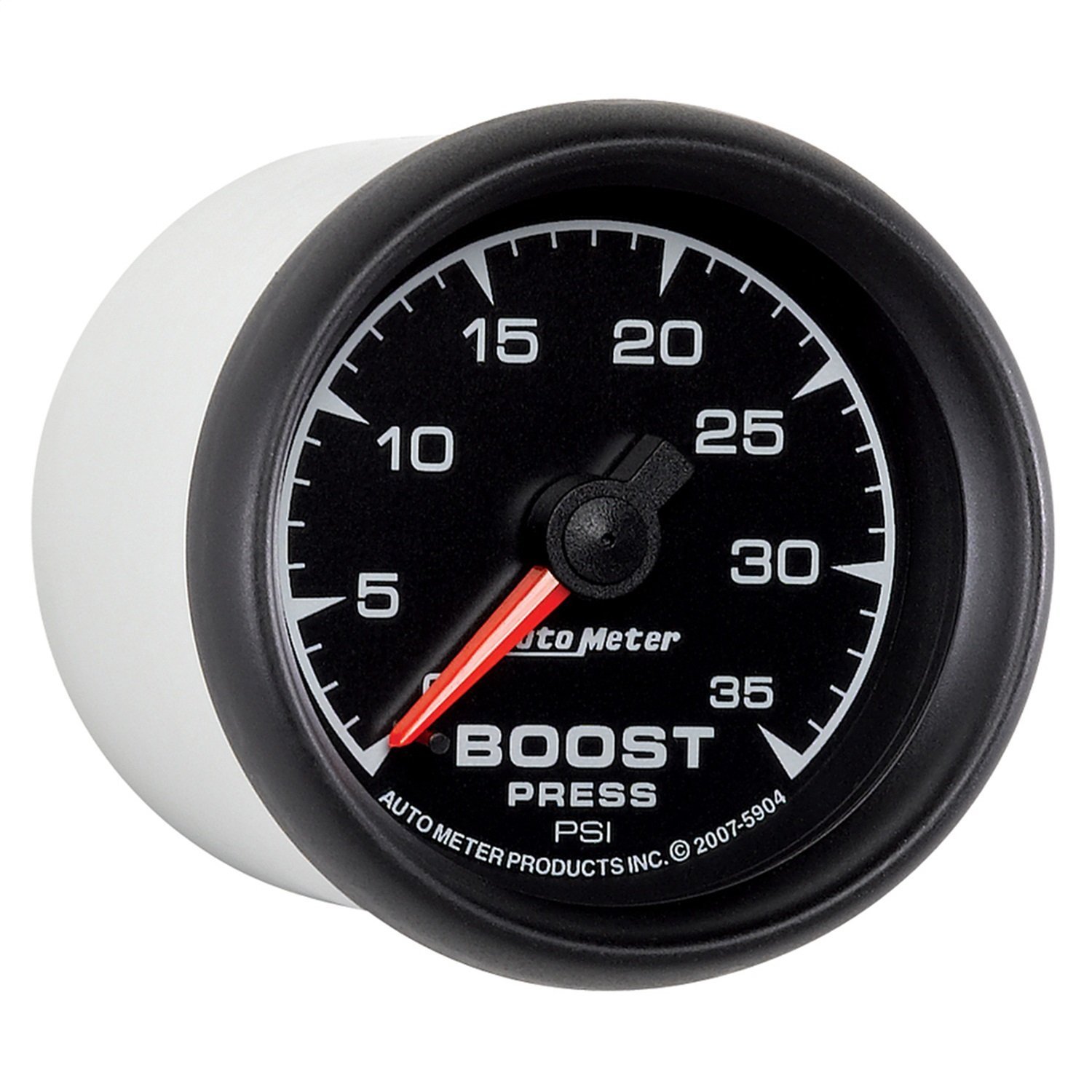 Auto Meter 5904 ES 2-1//16 0-35 PSI Mechanical Boost Gauge