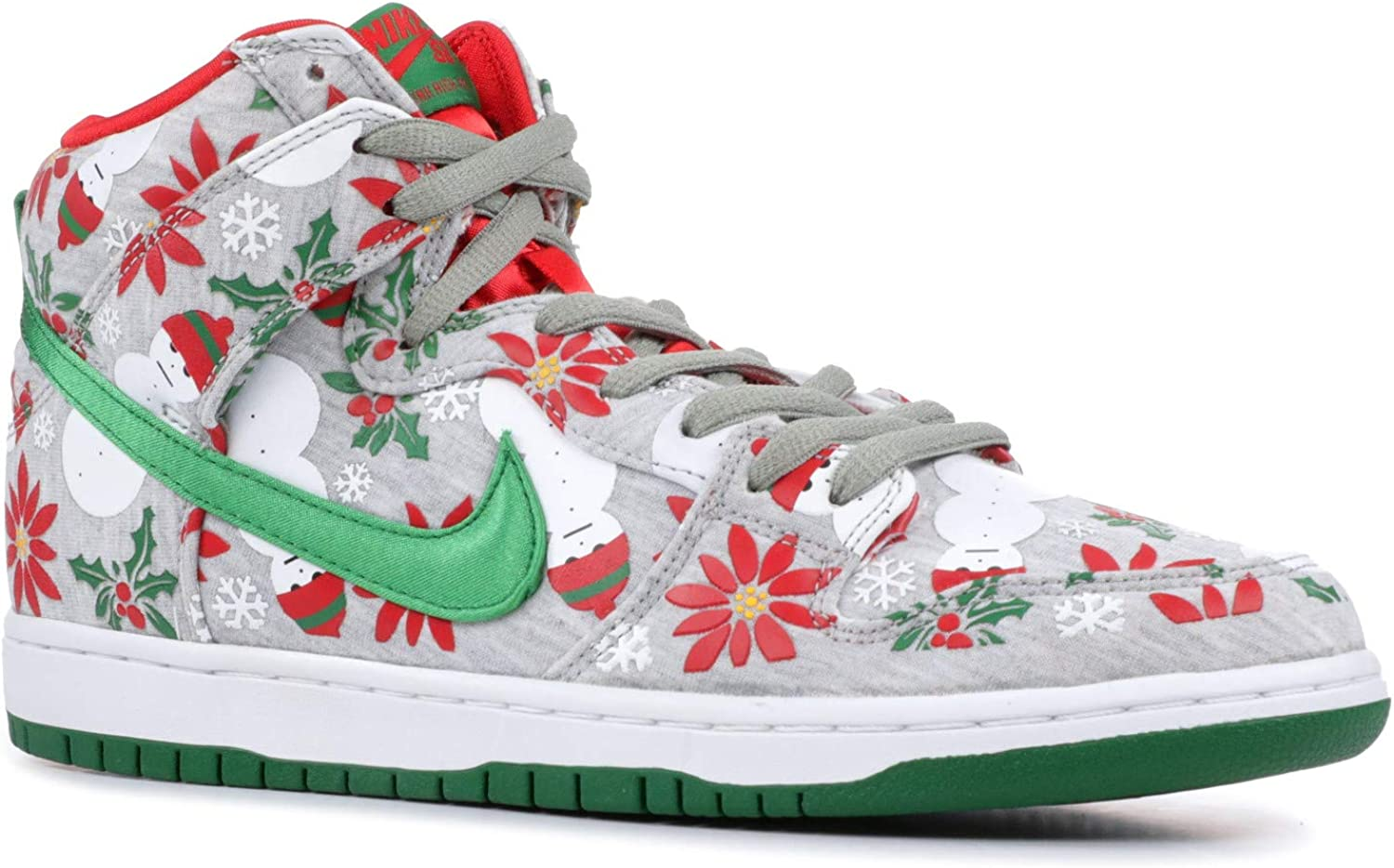 secretamente Email Embajada  Amazon.com | Nike Dunk High SB PRM Ugly Christmas Sweater (635525-036) |  Skateboarding