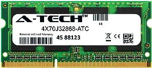 A-Tech 16GB Replacement for Lenovo 4X70J32868 - DDR3/DDR3L 1600MHz PC3-12800 Non ECC SO-DIMM 2rx8 1.35v - Single Laptop & Notebook Memory Ram Stick (4X70J32868-ATC)