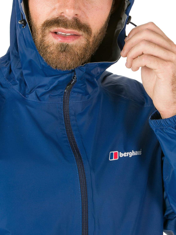 9232e2182 Berghaus Men s Deluge Light Waterproof Jacket  Amazon.co.uk  Sports ...
