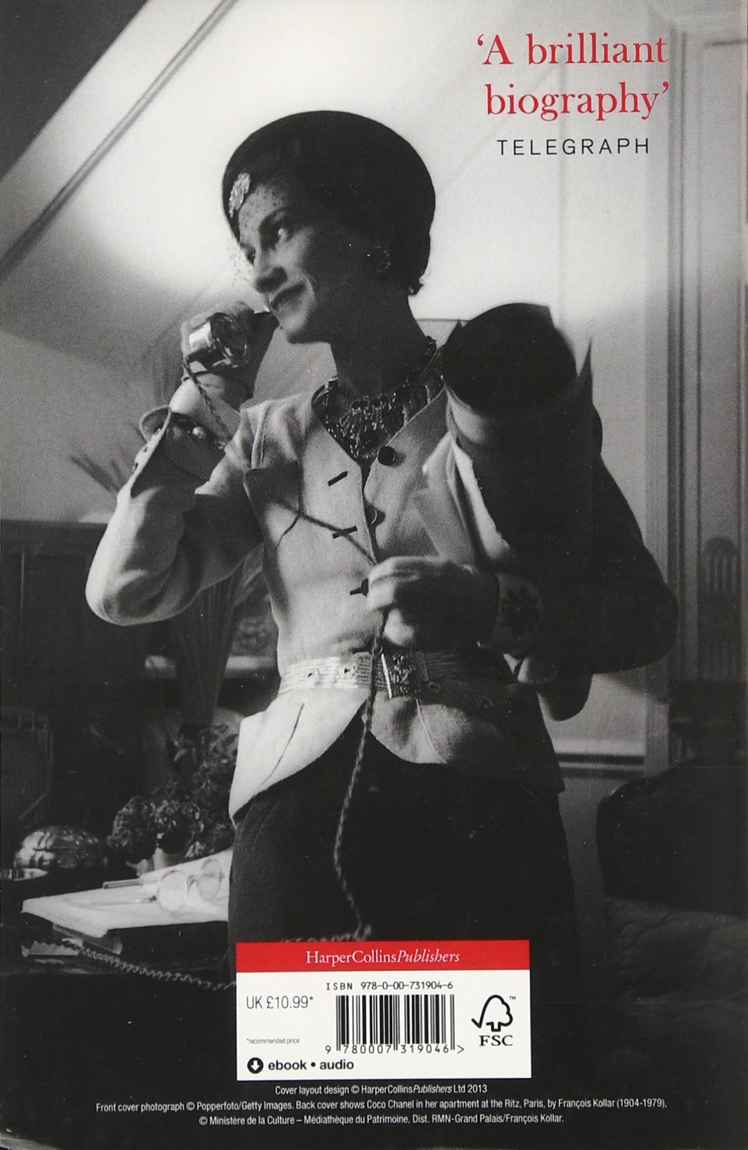 8f4dac84cc Coco Chanel: The Legend and the Life: Amazon.co.uk: Justine Picardie:  9780007319046: Books