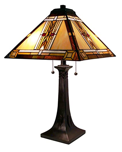 Amazon fine art lighting tiffany table lamp 16 by 25 inch 292 fine art lighting tiffany table lamp 16 by 25 inch 292 glass cuts aloadofball Images