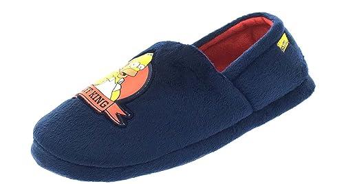 Simpsons - Zapatillas de Estar por casa de Poliuretano para Hombre Azul Azul Marinohttps://amzn.to/2GuBzbN