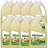 Wesson Pure Canola Oil, 64 oz (Pack of 8)