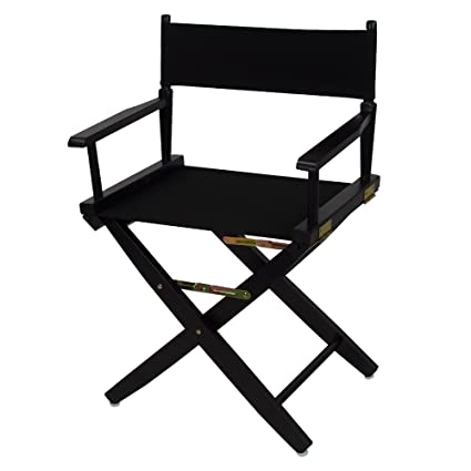 Genial American Trails Extra Wide Premium 18u0026quot; Directoru0027s Chair Black Frame  With ...