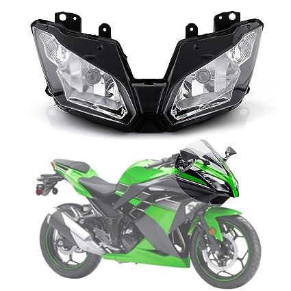 Artudatech Faros delanteros para motocicleta, repuesto de ...