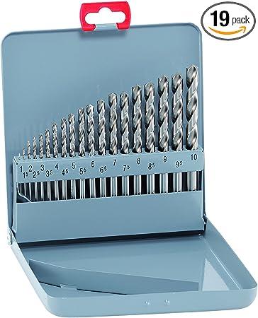 3mm Alpen 60700230100 Morse Taper Shank Drills Hss-Eco Tin Din 338 Rn 2