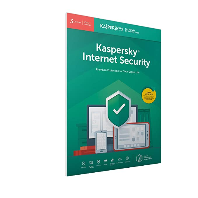 Amazon com: Kaspersky Internet Security 2019 | 3 Devices | 1
