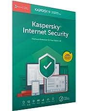 Kaspersky Internet Security 2018 | 3 Licencias/Dispositivos | 1 Año | PC / Mac / Android | Código dentro de un paquete con fácil apertura, certificado