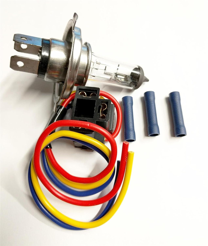 H4 HB472 472 BULB & HOLDER PLUG HEADLAMP WIRING REPAIR HEADLIGHT & CONNECTORS AutoPower