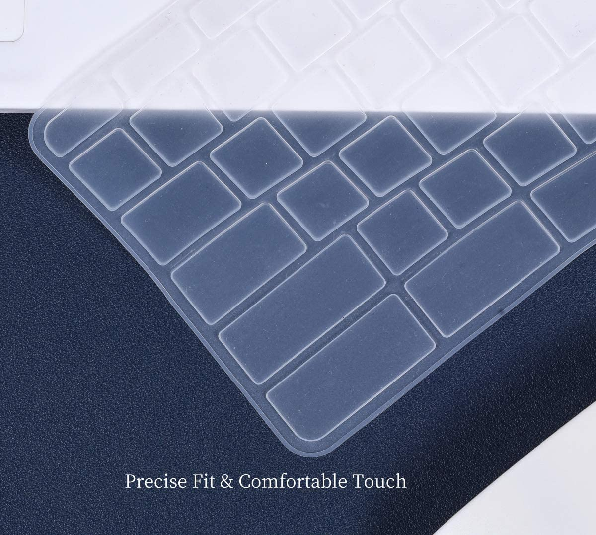 13.3 Chromebook R 13 CB5-312T //Chromebook 15 CB3-531 Chromebook R 11 CB5-132T Chromebook 11 CB3-131 CB3-132 Clear Silicone Keyboard Cover for 2019//2018//2017 Newest Acer Premium R11 11.6