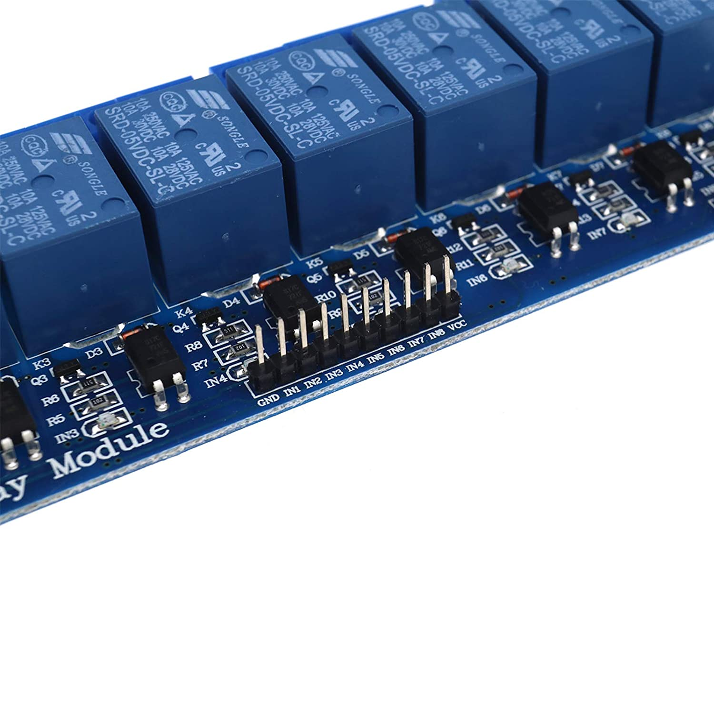 1x 5V 16-Kanal-Relaismodul mit Optokoppler f/ür Arduino PIC AVR DSP ARM P6