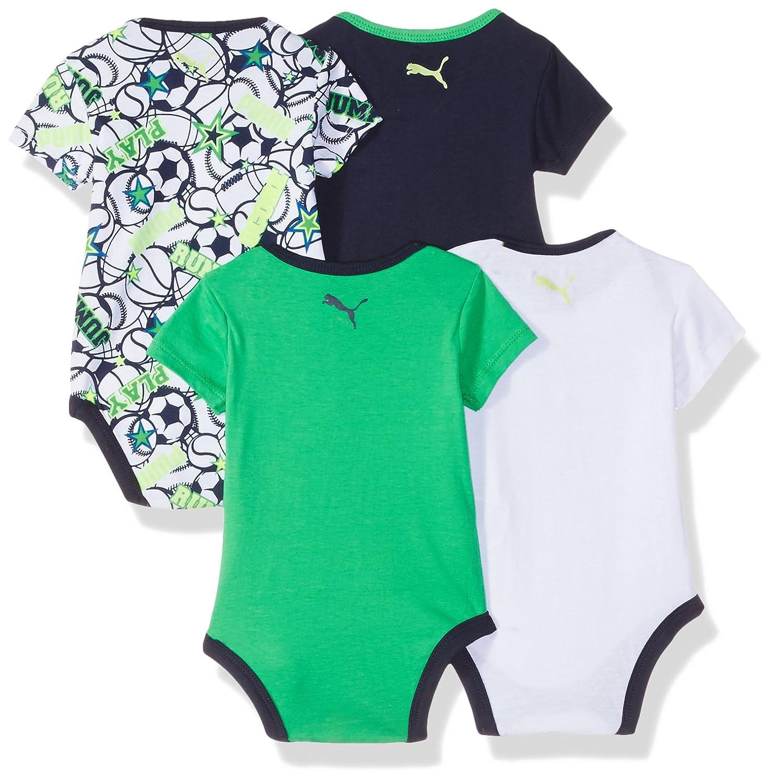 828b485e0a62a Puma - Body - Bébé (garçon) 0 à 24 Mois Multicolore Mehrfarbig - Multicolore  - M  Amazon.fr  Vêtements et accessoires