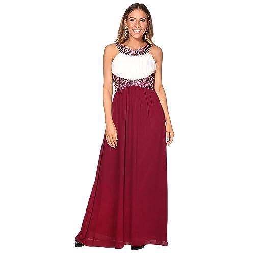 KRISP Vestido Largo Fiesta Ceremonia Elegante