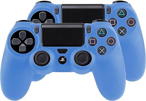 SMARDY Bundle - 2X Funda Cubierta de Silicona para Playstation 4 ...