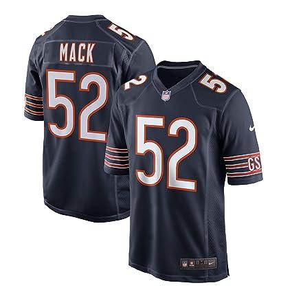 Amazon.com   Nike Khalil Mack Chicago Bears Youth Game Jersey - Navy ... 0b2306307