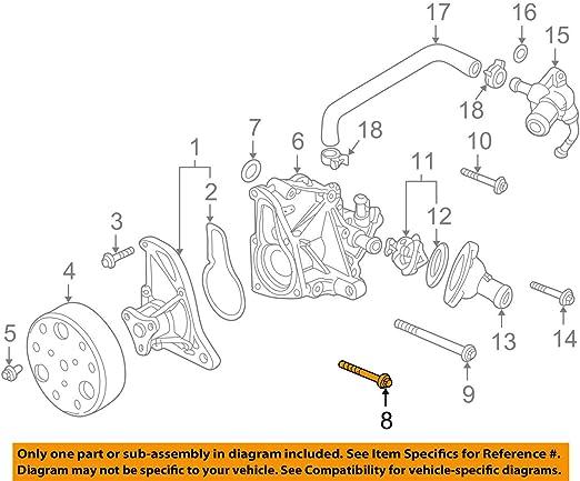 Honda 95701-08022-08 Bolt Flange 8X22