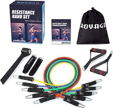 Amazon.com: Royago Juego de bandas de resistencia de 150 ...