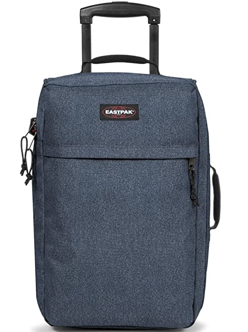 Eastpak Traffik Light Maleta, Diseño Double Denim, 33 litros, Color Azul: Amazon.es: Equipaje
