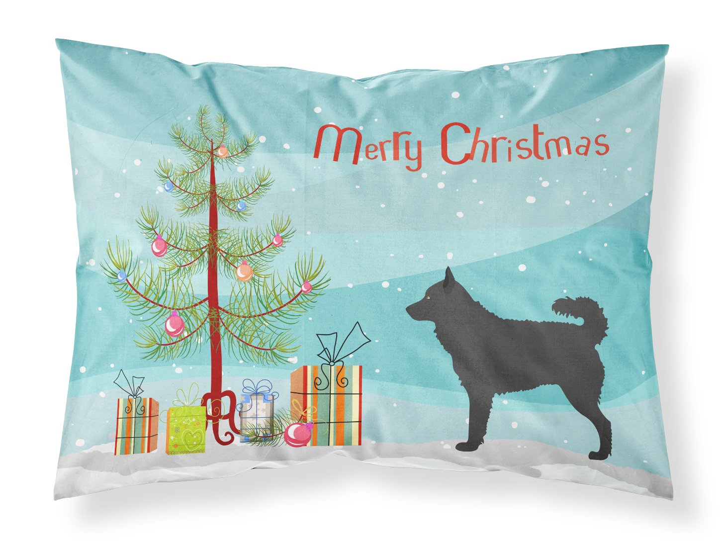 - Encompass Collection Size: 16X16X6 - TELAVC1497OP16 Blue KAVKA Designs Gela Indoor-Outdoor Pillow,