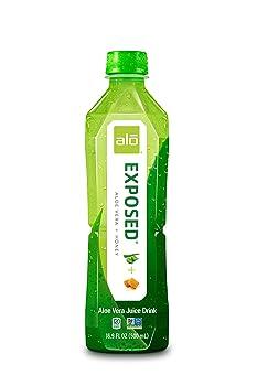 ALO Exposed Honey 16.9-ounce Aloe Vera Juice