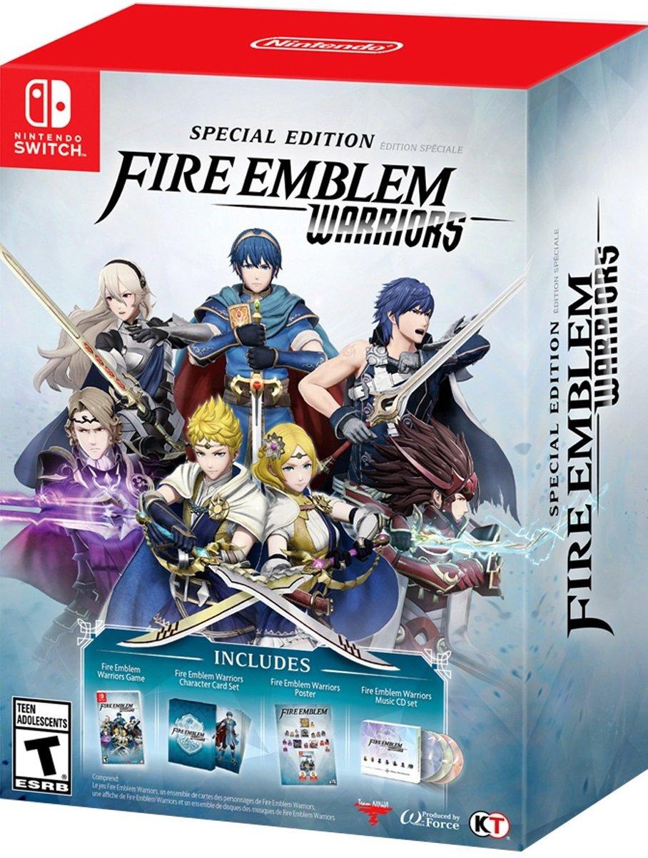 Amazon Com Fire Emblem Warriors Special Edition Nintendo Switch Fire Emble Warriors Special Edition Video Games