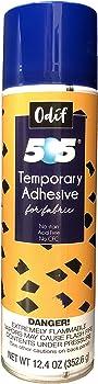 Odif USA 505 Temporary Fabric Adhesive