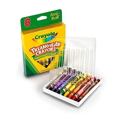 Crayola 8ct Triangular Crayons (4 Pack): Beauty