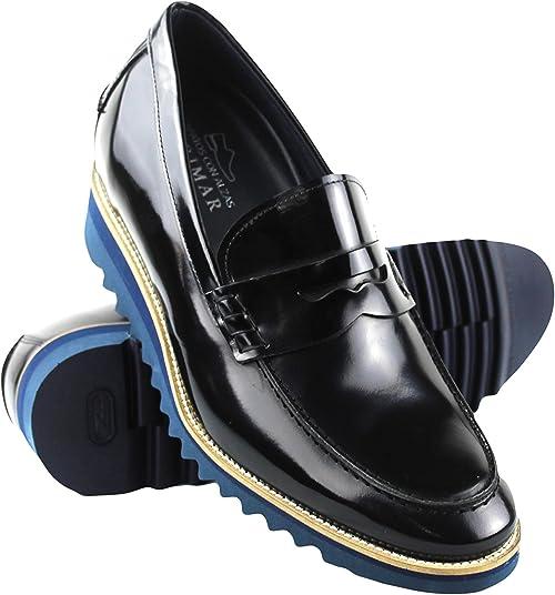 Zerimar Zapatos con Alzas Hombre| Zapatos de Hombre con Alzas Que Aumentan su Altura + 8 cm| Zapatos con Alzas para Hombres | Zapatos Hombre Vestir | Fabricados en España: Amazon.es: Zapatos y complementos