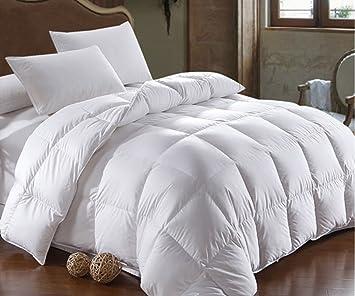 Fesselnd Ganzjahresdecke Daunen Decke Bettdecke 155x200cm Daunen Decke Kassetten  Bett Füllung 1400 Gr. 100% Natur