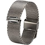 For Withings Steel HR, BZLine ® 20mm Milanese Stainless Steel Replacement Watch Strap for Withings Steel HR 40mm Case 2016