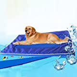 Pet Supplies Dog Cooling Mat – Gel Self Cooling Mat for Dogs – This Pet Cooling Gel Pad Keeps Dogs and Cats Cool in Warm Weat