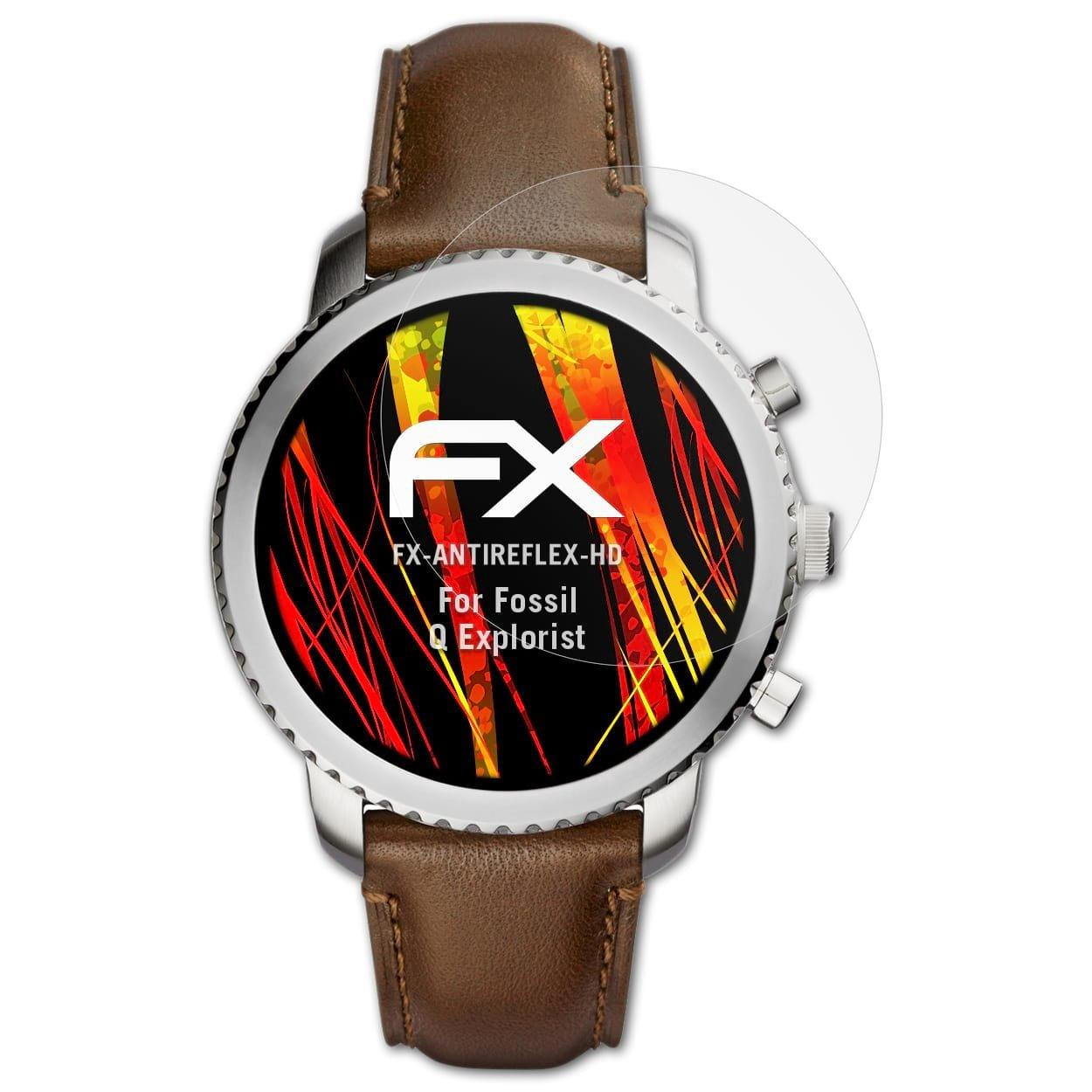 atFoliX Film Protecteur Compatible avec Fossil Q Explorist Film Protection décran, Revêtement antireflet HD FX Protection décran (3X): Amazon.fr: High- ...