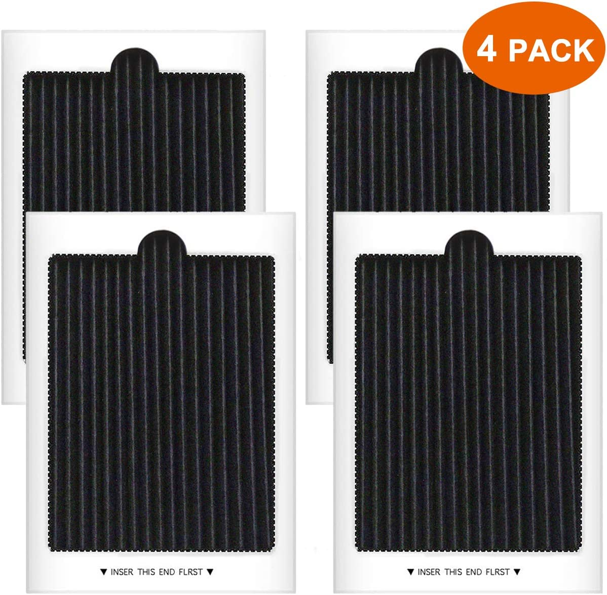 Refrigerator Air Filter Replacement Compatible with Frigidaire PAULTRA, SCPUREAIR2PK, Electrolux EAFCBF (4 PCS)