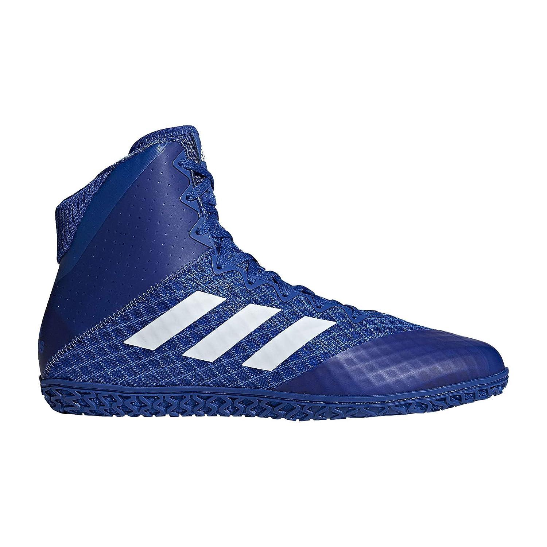Bleu Roi Blanc 47 1 3 EU adidas Tapis Wizard 4 Wrestling Chaussures