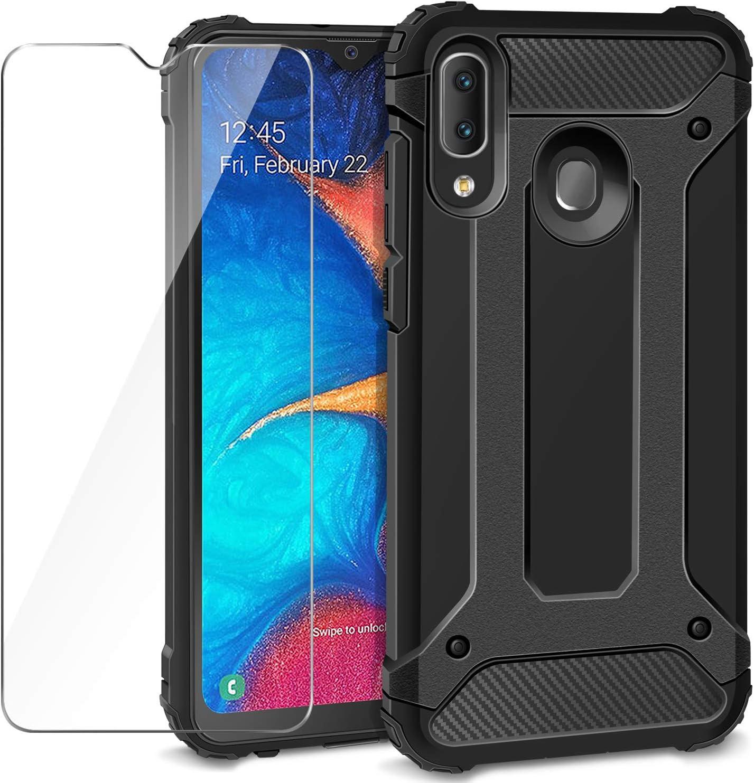 AROYI Funda Samsung Galaxy A20e + Protectores de Pantalla in ...